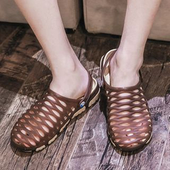 Bay Go Mall - Sling Back Jelly Sandals