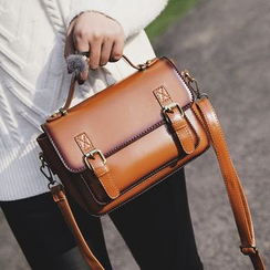 Youshine - Faux Leather Satchel