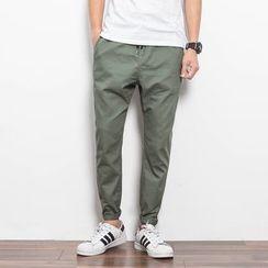 百高 - 抽绳棉质裤