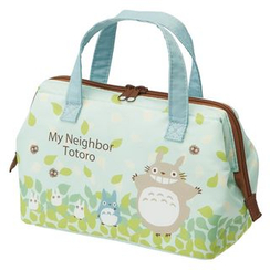Skater - My Neighbor Totoro Lunch Bag M (Blue)