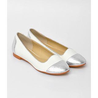 yeswalker - Metallic Toe-Cap Flats