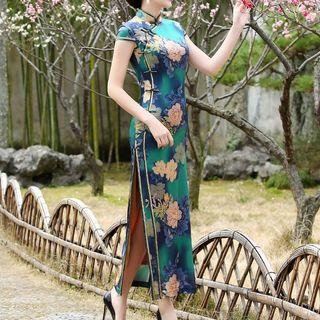 Miss Four Qipao - Floral Layered Cheongsam