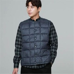 BYMONO - Quilted Buttoned Puffer Vest