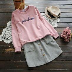 YOYO - Embroidery Pullover