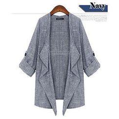 Eloqueen - Tab-Sleeve Jacket
