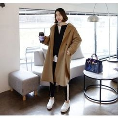 Miamasvin - Wool Blend Oversized Coat