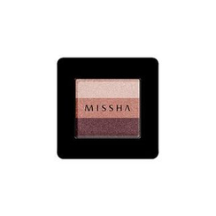 Missha - Triple Shadow (#05 Vintage Plum)