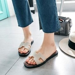 Pangmama - Flat Slide Sandals