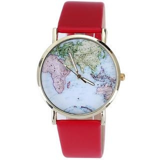 Miss Girl - Map Strap Watch