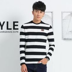 INSO - Striped Long Sleeve T-Shirt