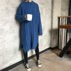 Windflower - Cable Knit Dress