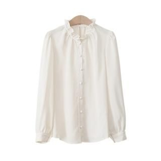 PEPER - Frilled-Collar Blouse