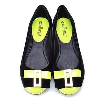 Exull - Bow-Accent Two-Tone Flats