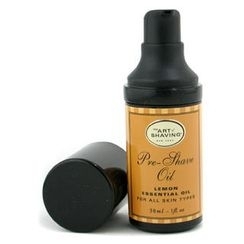 The Art Of Shaving - Pre Shave Oil - Lemon Essential Oil (Travel Size, Pump, For All Skin Types)