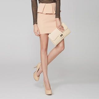 O.SA - Detachable-Peplum Skirt