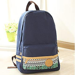 Canvas Love - Patterned Canvas Backpack