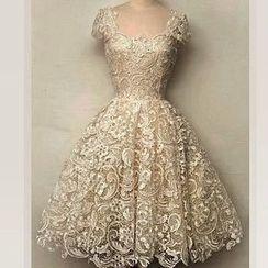 Katemi - Lace Prom Dress