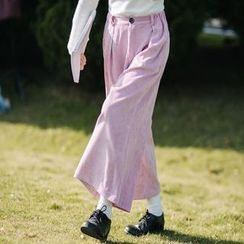 Fancy Show - Corduroy Baggy Pants