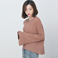 BORAN - Bell Sleeve Sweater
