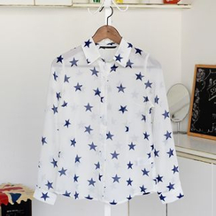 59 Seconds - Star Print Shirt