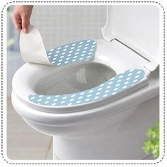 Good Living - Patterned Toilet Seat Cover