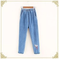 Fairyland - Embroidered Jeans