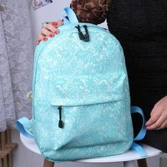 Miss Sweety - Lace Canvas Backpack