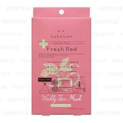 LuLuLun - Fresh Red Weekly Face Mask