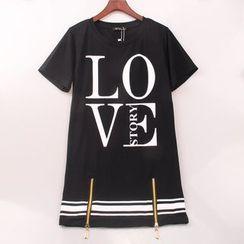 Modella - 字母T恤裙