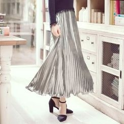 Tokyo Fashion - Pleated Midi Skirt