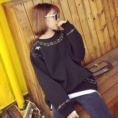Bloombloom - Patterned Sweatshirt