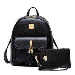BeiBaoBao - Tasseled Backpack
