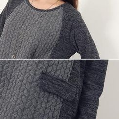 Stylementor - Embossed-Front Tunic