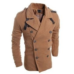 Hansel - 双排扣羊毛大衣