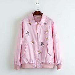 TOJI - Appliqué Jacket