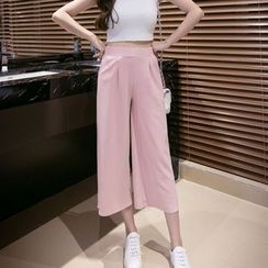 Maine - Wide-Leg Cropped Pants
