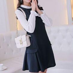 Q.C.T - Panel Knit Dress