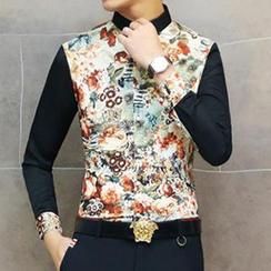 Besto - Floral Print Shirt