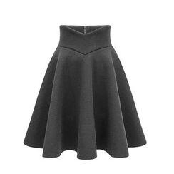LITI - A-Line Midi Skirt