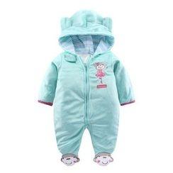 Madou - 嬰兒印花連身衣