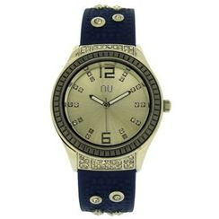 N:U - Not the Usual - Studded Silicone Watch