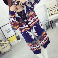 Dream Girl - Patterned Long Cardigan