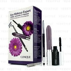 Clinique 倩碧 - Eye Makeup Expert (1x Quickliner, 1x Chubby Stick Shadow, 1x High Impact Mascara) - Purple