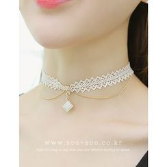 soo n soo - Choker Layered Necklace