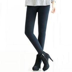 Shopin - Fleece-Lined Leggings
