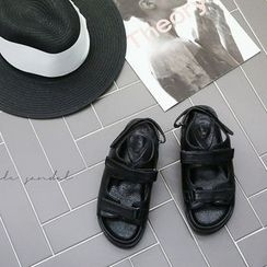NANING9 - Faux-Leather Sandals