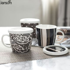 Jarsun - Printed Mug with Lid
