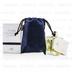 Hermes 愛馬仕 - Voyage DHermes Eau De Toilette Refillable Spray (Chevon Canvas Limited Edition)