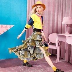 ELF SACK - Printed Maxi Skirt