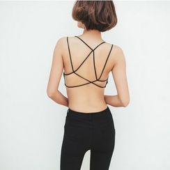 Tang House - Cross Back Bra Top